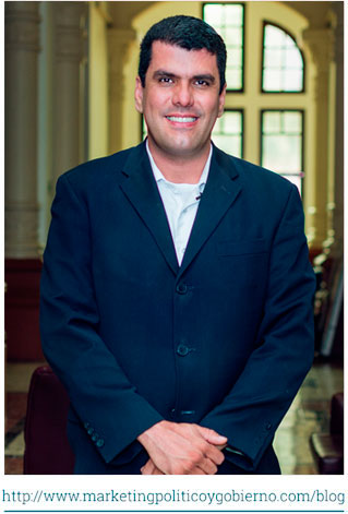 Foto de Miguel Jaramillo Luján, Gerente de marketing politico y gobierno