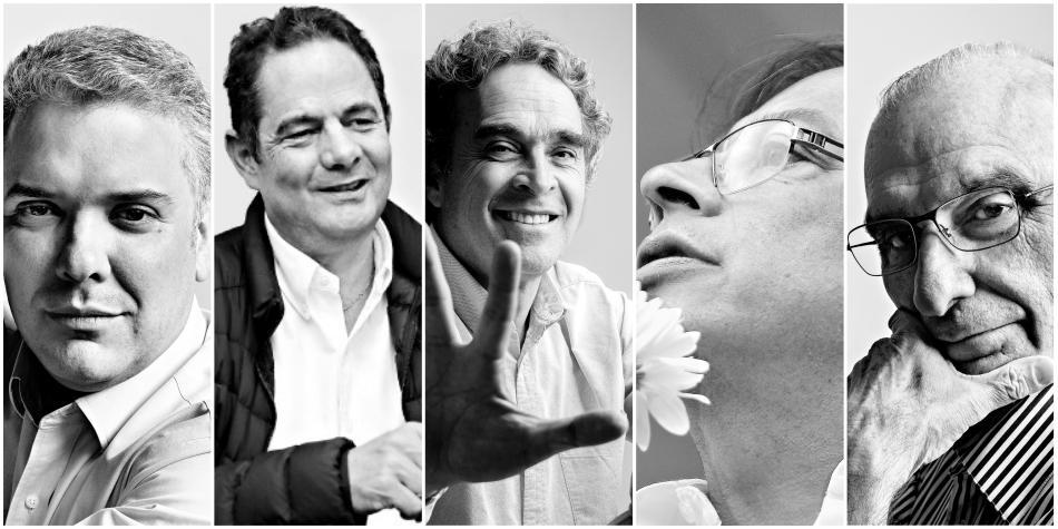 Candidatos presidenciales Colombia Imagen tomada de eltiempo.com